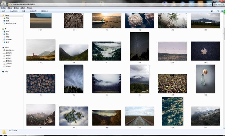 [素材包]450张欧美商用高清自然风景图库素材 JPEG图片素材设计网页背景图 素材包-第4张
