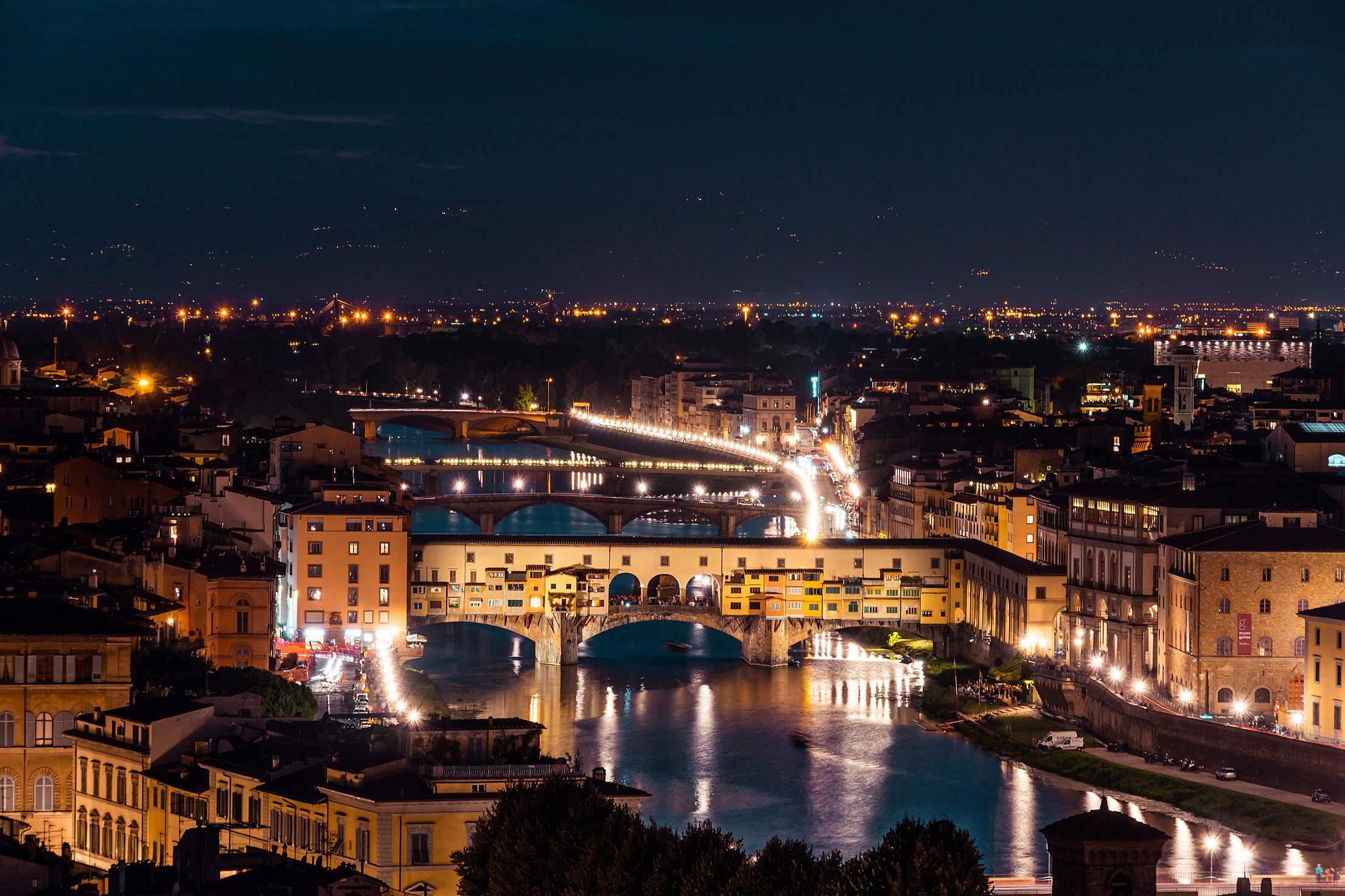 城市,夜景,建筑,桥,城市远景 自然风景-第1张