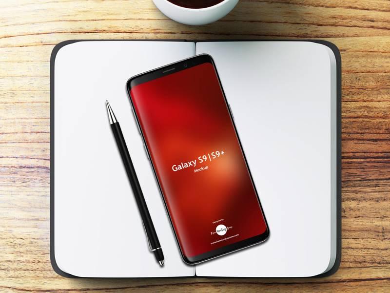 Samsung Galaxy S9 & S9+ mockup样机素材 .psd素材下载 样机素材-第1张