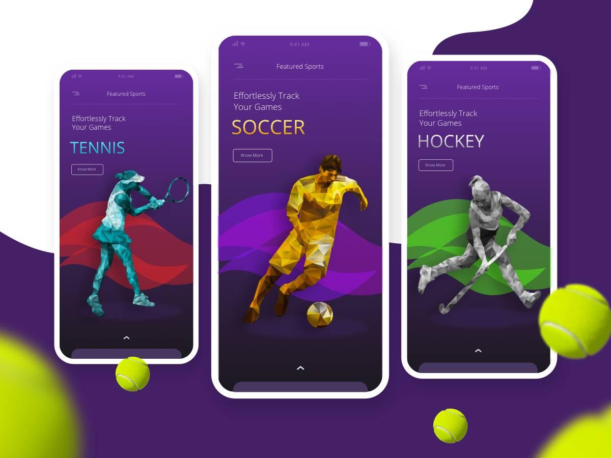 健身运动app 引导页/欢迎页.sketch素材下载 界面-第1张