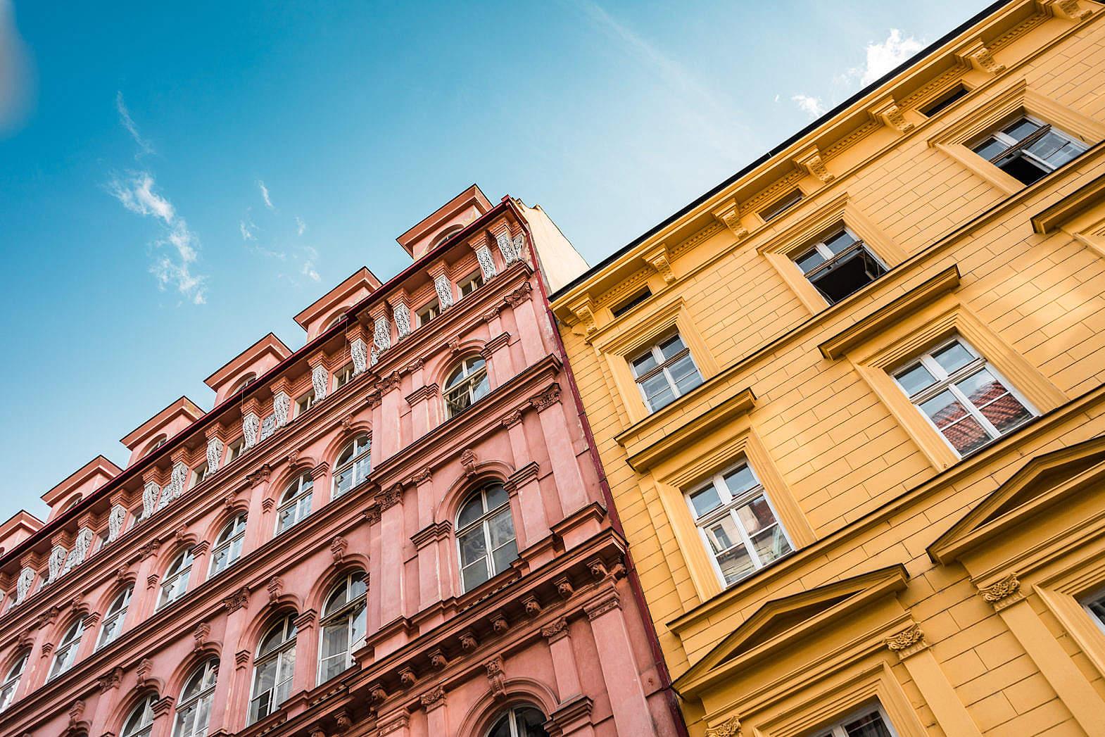 蓝天 ,欧洲, 建筑 ,城市, 门窗 城市建筑-第1张