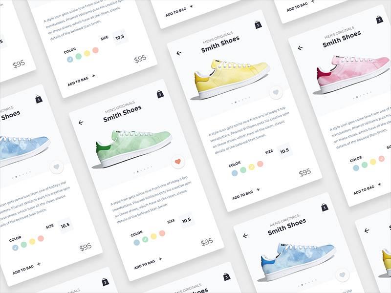 潮鞋帮电商购物UI界面设计.sketch素材下载 界面-第1张