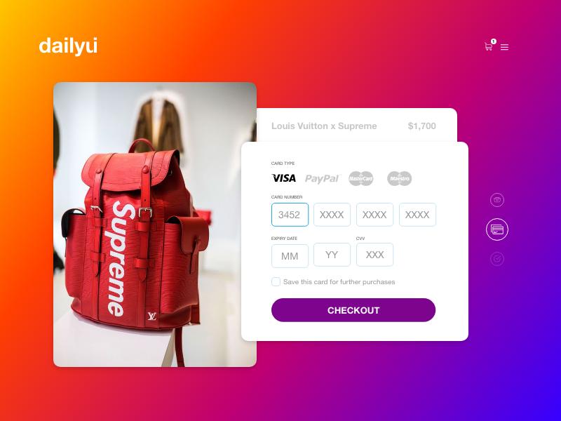 app信用卡支付UI界面设计 .xd素材下载 界面-第1张