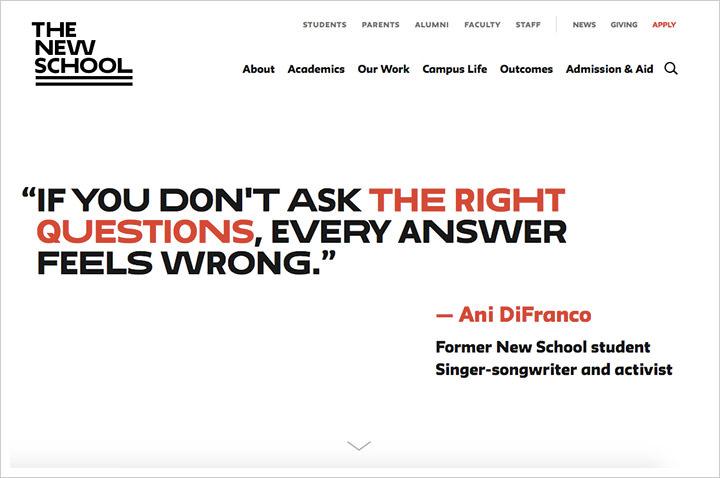 50个纯净极简风格网页设计 酷站欣赏-第6张