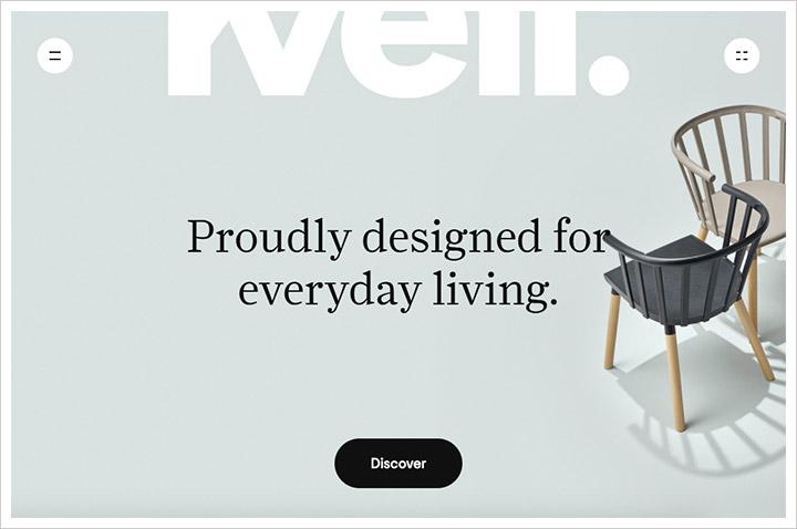 50个纯净极简风格网页设计 酷站欣赏-第32张