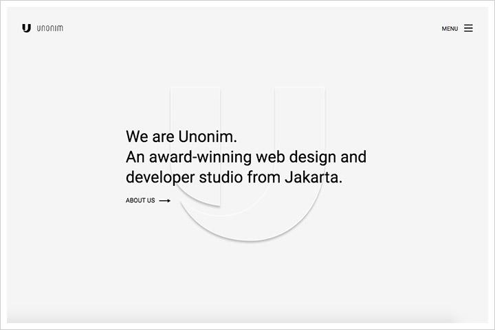 50个纯净极简风格网页设计 酷站欣赏-第4张