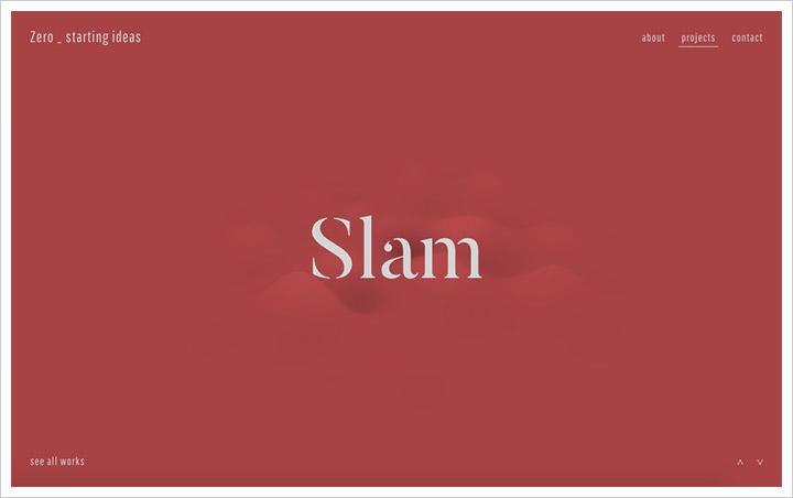 50个纯净极简风格网页设计 酷站欣赏-第20张