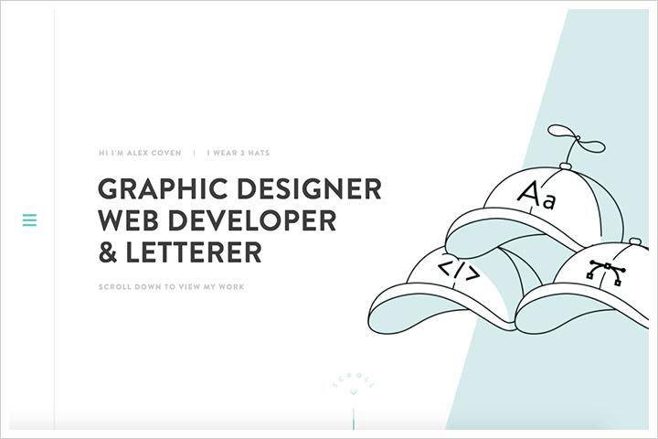 50个纯净极简风格网页设计 酷站欣赏-第23张
