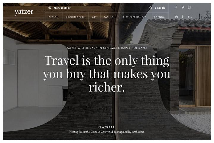 50个纯净极简风格网页设计 酷站欣赏-第49张