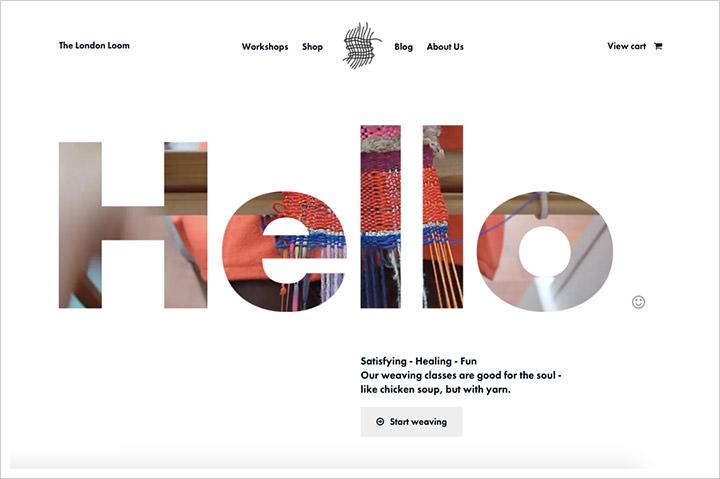 50个纯净极简风格网页设计 酷站欣赏-第45张
