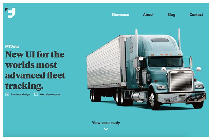 50个纯净极简风格网页设计 酷站欣赏-第25张