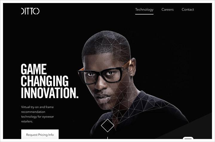 50个纯净极简风格网页设计 酷站欣赏-第33张