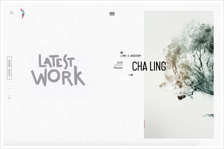 50个纯净极简风格网页设计 酷站欣赏-第46张