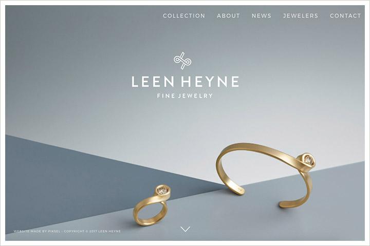 50个纯净极简风格网页设计 酷站欣赏-第9张