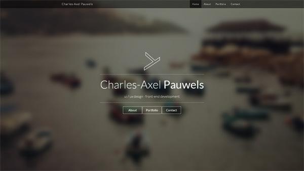 Charles-Axel Pauwels