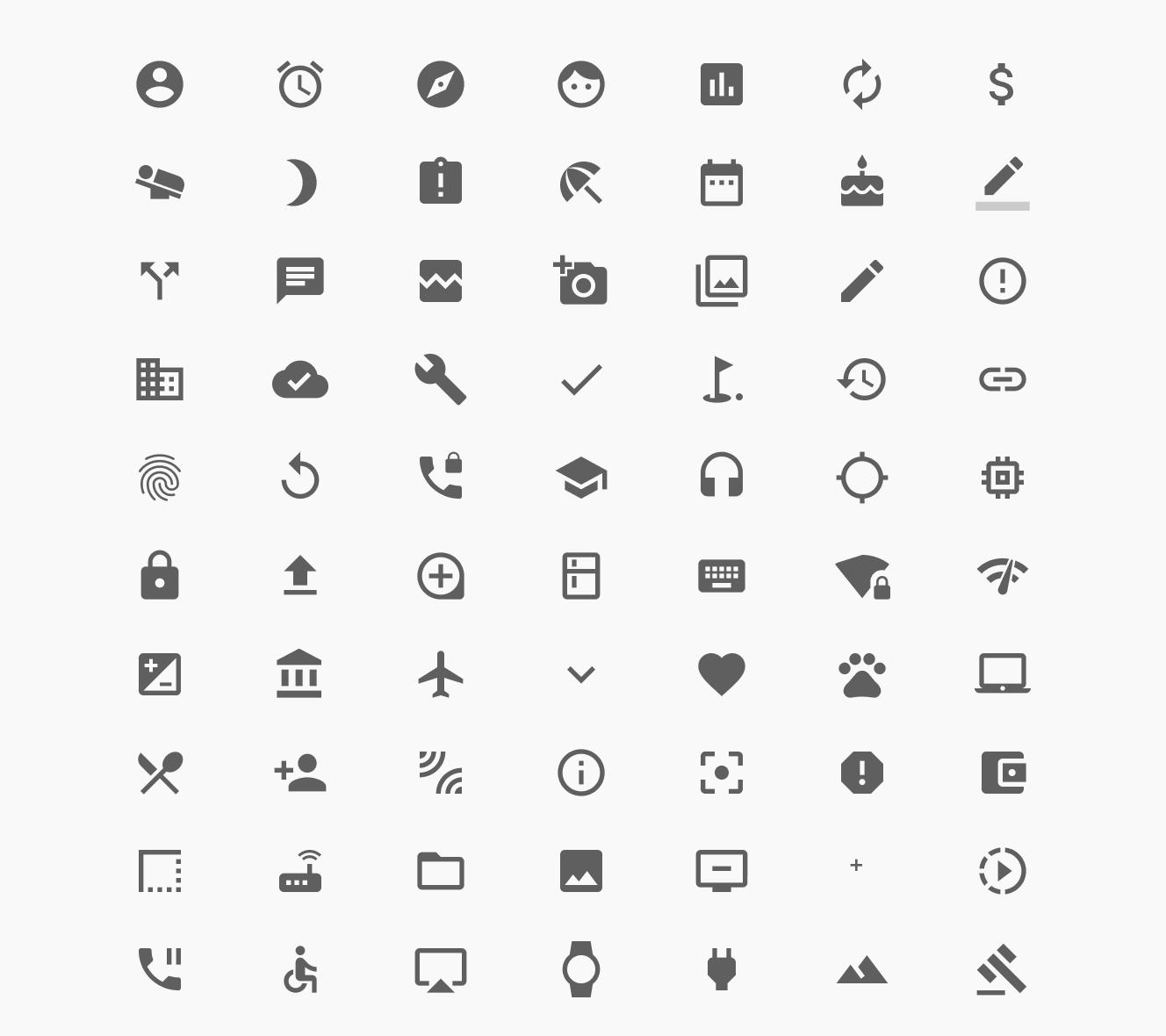 Google UI系统图标集 .sketch & .svg素材下载 图标-第1张