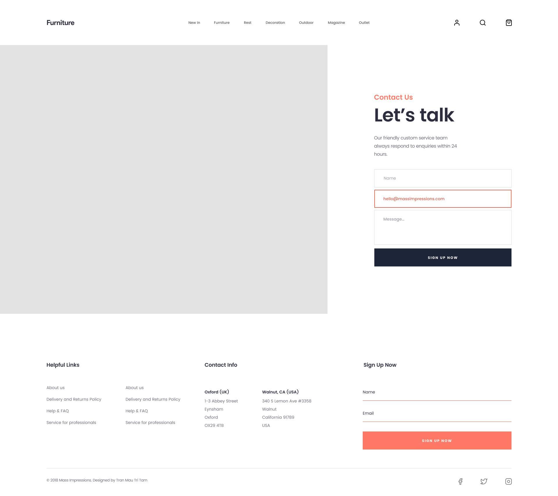 完整的家具网站页面模板.sketch素材下载 网页模板-第4张