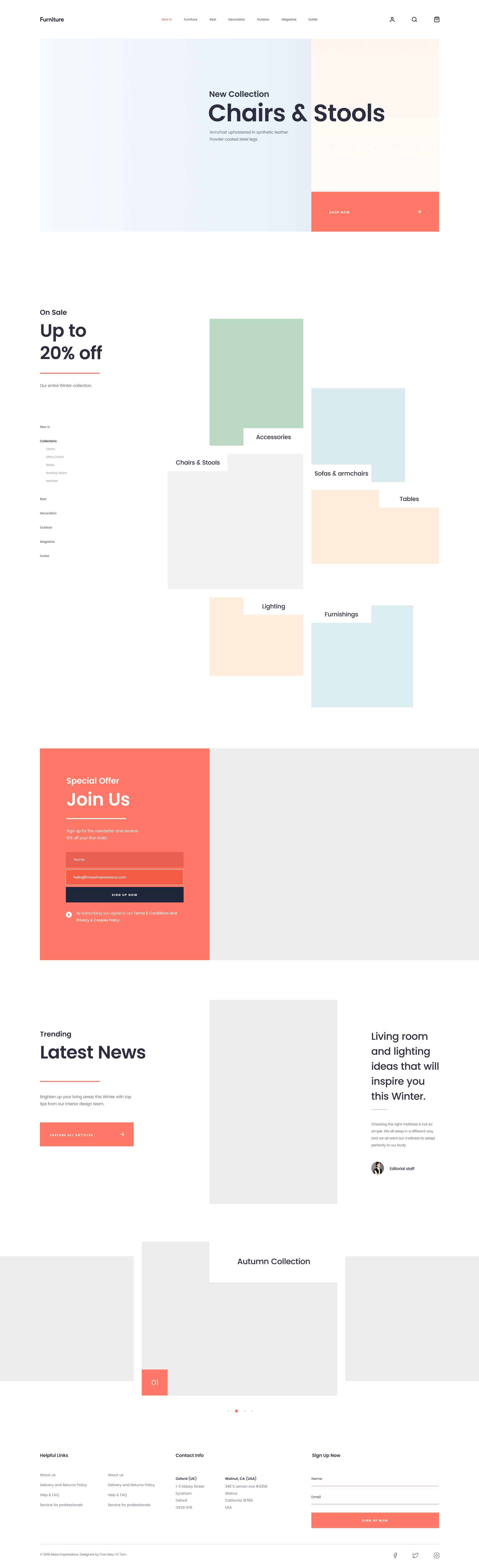 完整的家具网站页面模板.sketch素材下载 网页模板-第7张