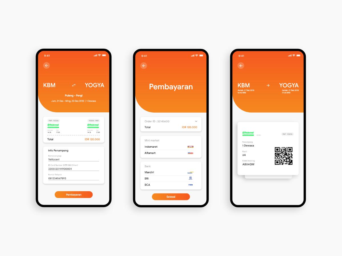 公交票务app ui界面设计.xd素材下载 界面-第2张