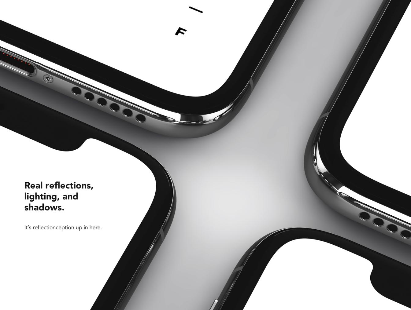 iPhone Xs 多种高素质mockup样机.PSD素材下载 样机素材-第3张