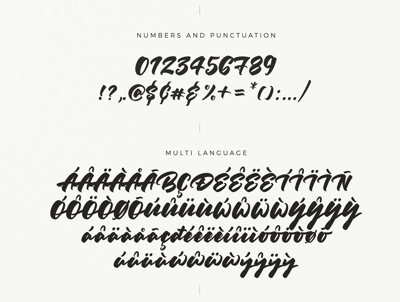 超级艺术的高端设计字体 其他-第6张