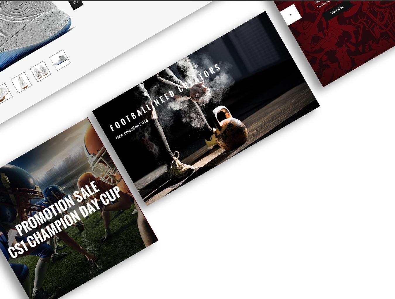 完整的鞋类电商平台MoodShop网站设计.psd素材下载 VIP网页模板-第5张