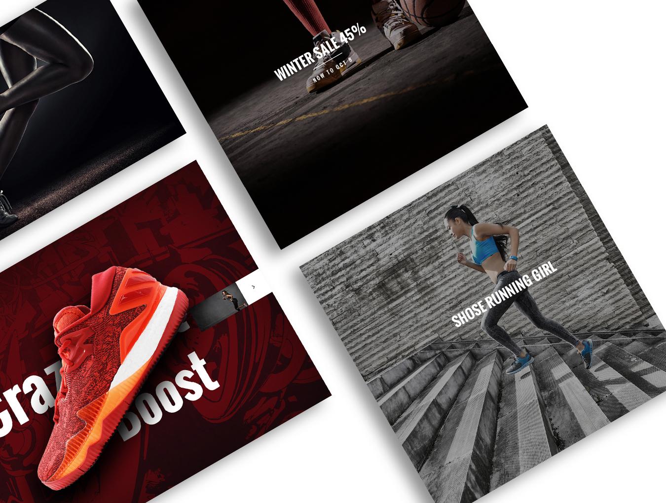 完整的鞋类电商平台MoodShop网站设计.psd素材下载 VIP网页模板-第6张