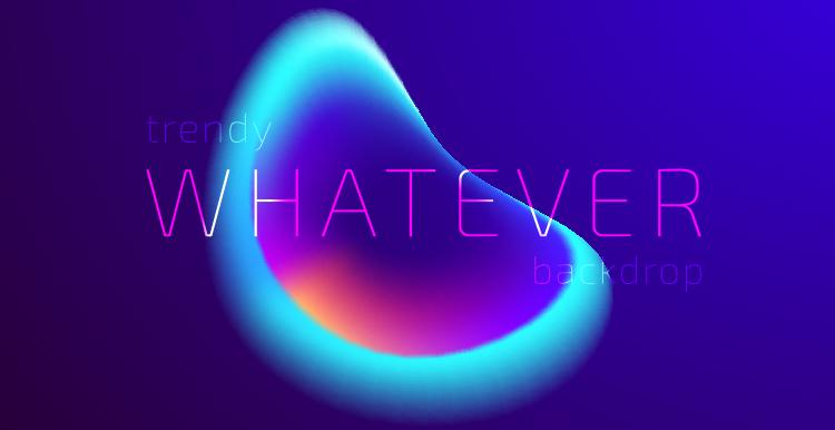 [素材包]抽象流光溢彩时尚蓝紫色渐变光晕极光背景源文件 素材包-第11张