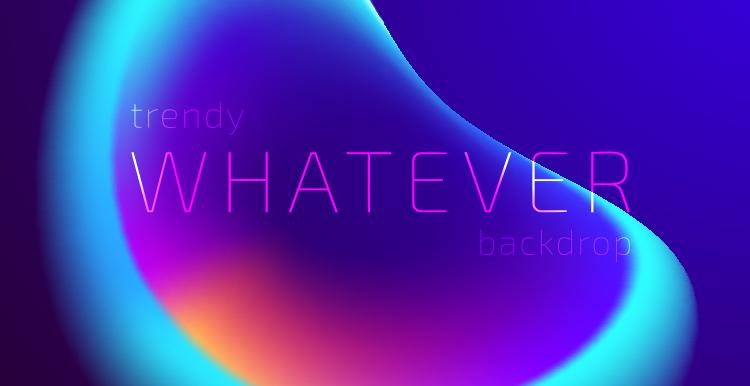 [素材包]抽象流光溢彩时尚蓝紫色渐变光晕极光背景源文件 素材包-第10张