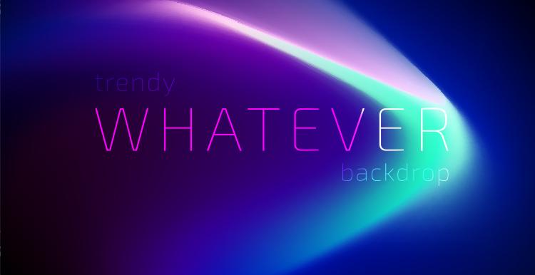 [素材包]抽象流光溢彩时尚蓝紫色渐变光晕极光背景源文件 素材包-第3张