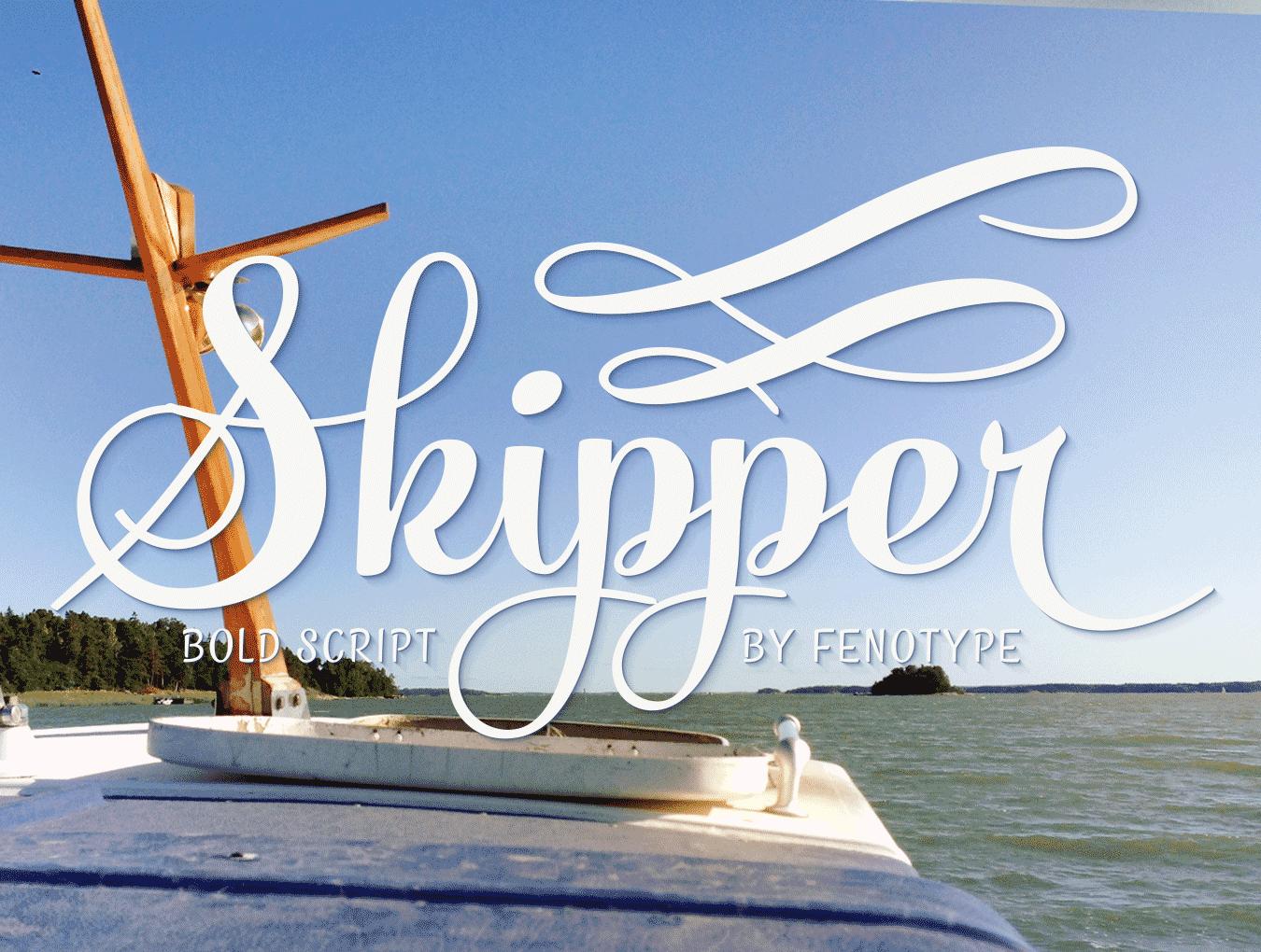 Skipper英文字体下载 其他-第4张