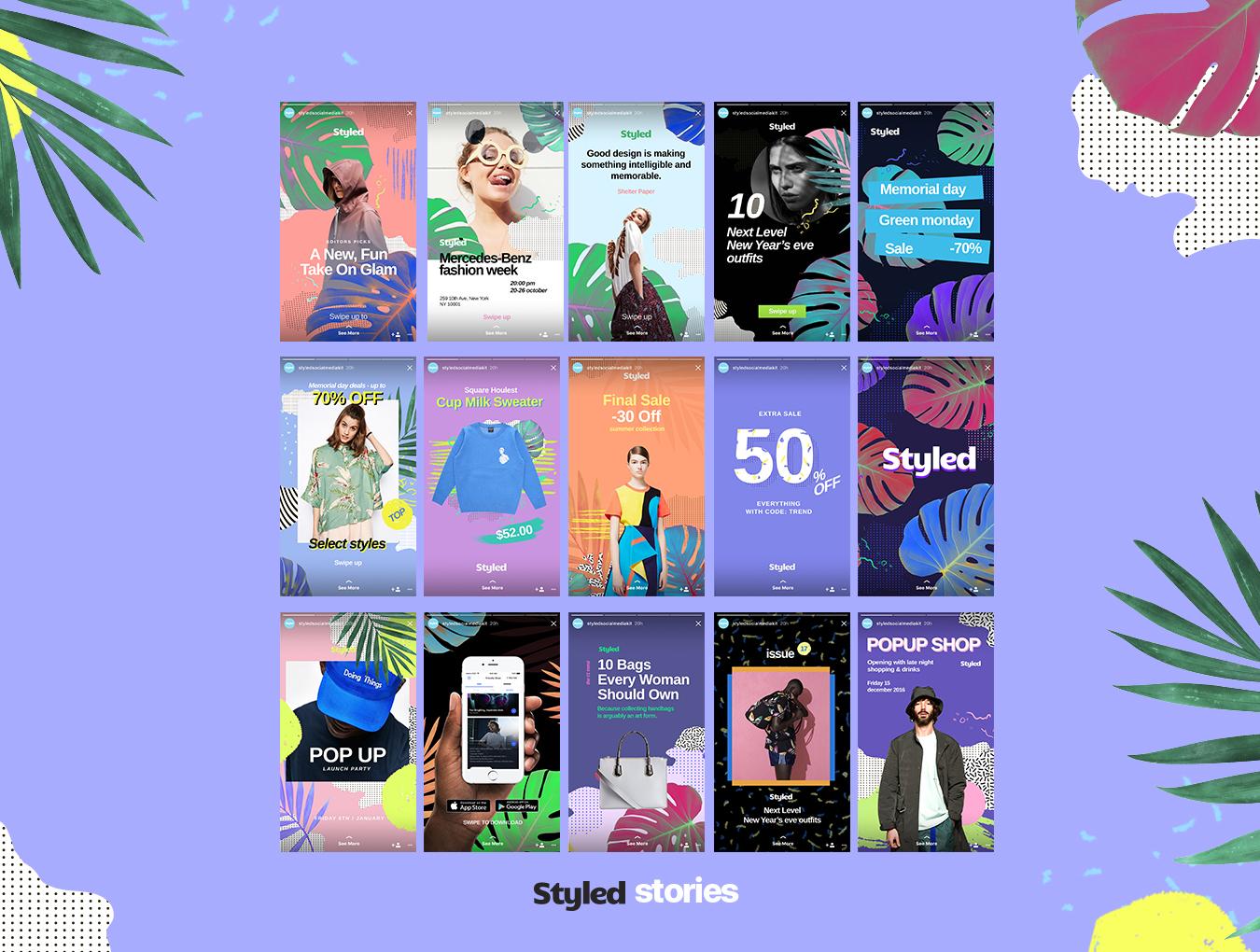 [VIP专享] 40个非常时尚的风格模板.PSD素材下载 VIP主题包-第2张