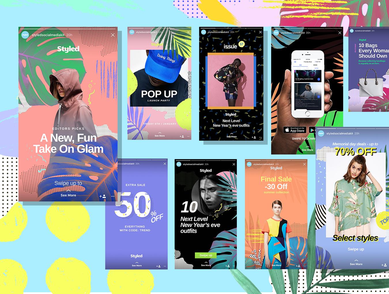 [VIP专享] 40个非常时尚的风格模板.PSD素材下载 VIP主题包-第5张