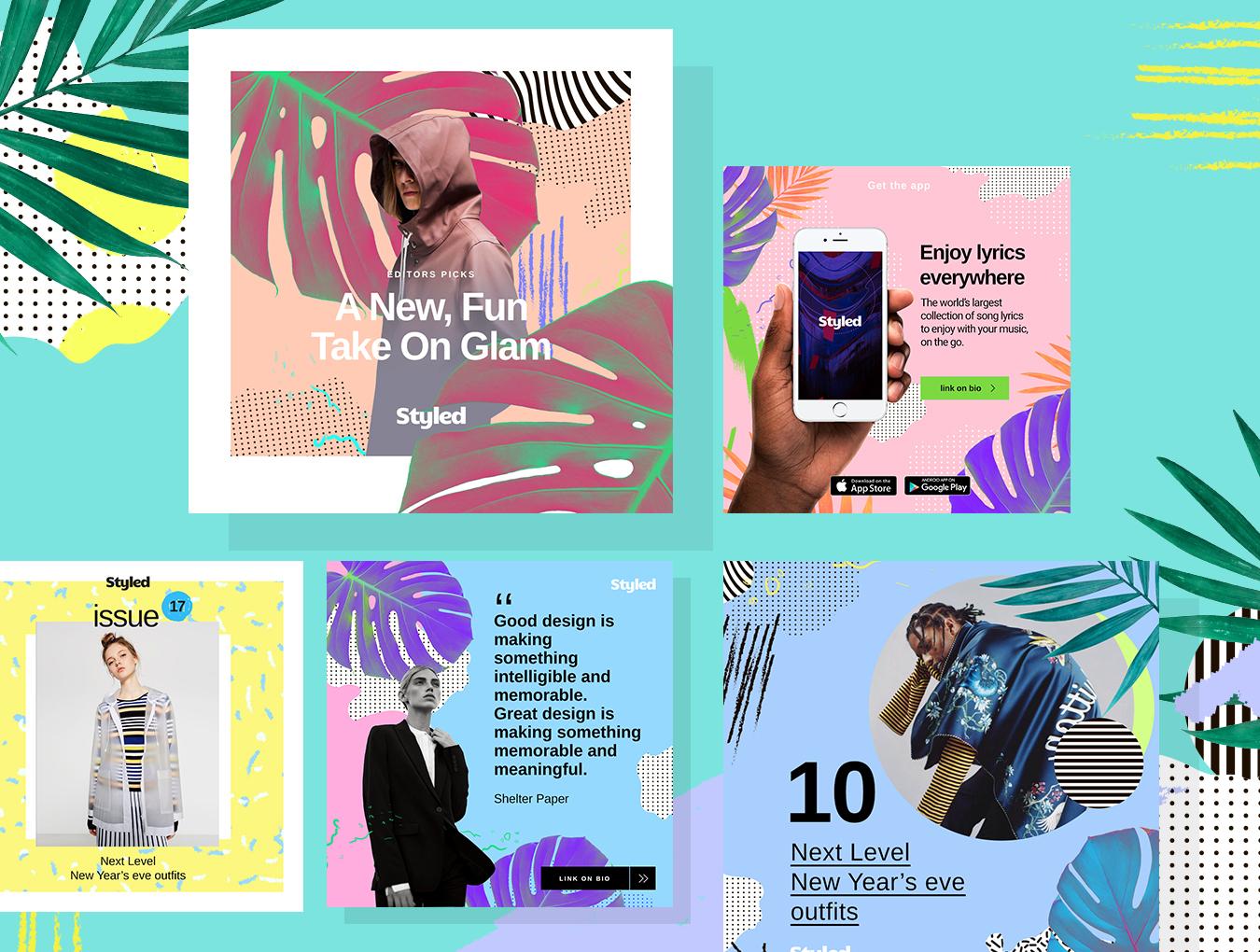 [VIP专享] 40个非常时尚的风格模板.PSD素材下载 VIP主题包-第10张
