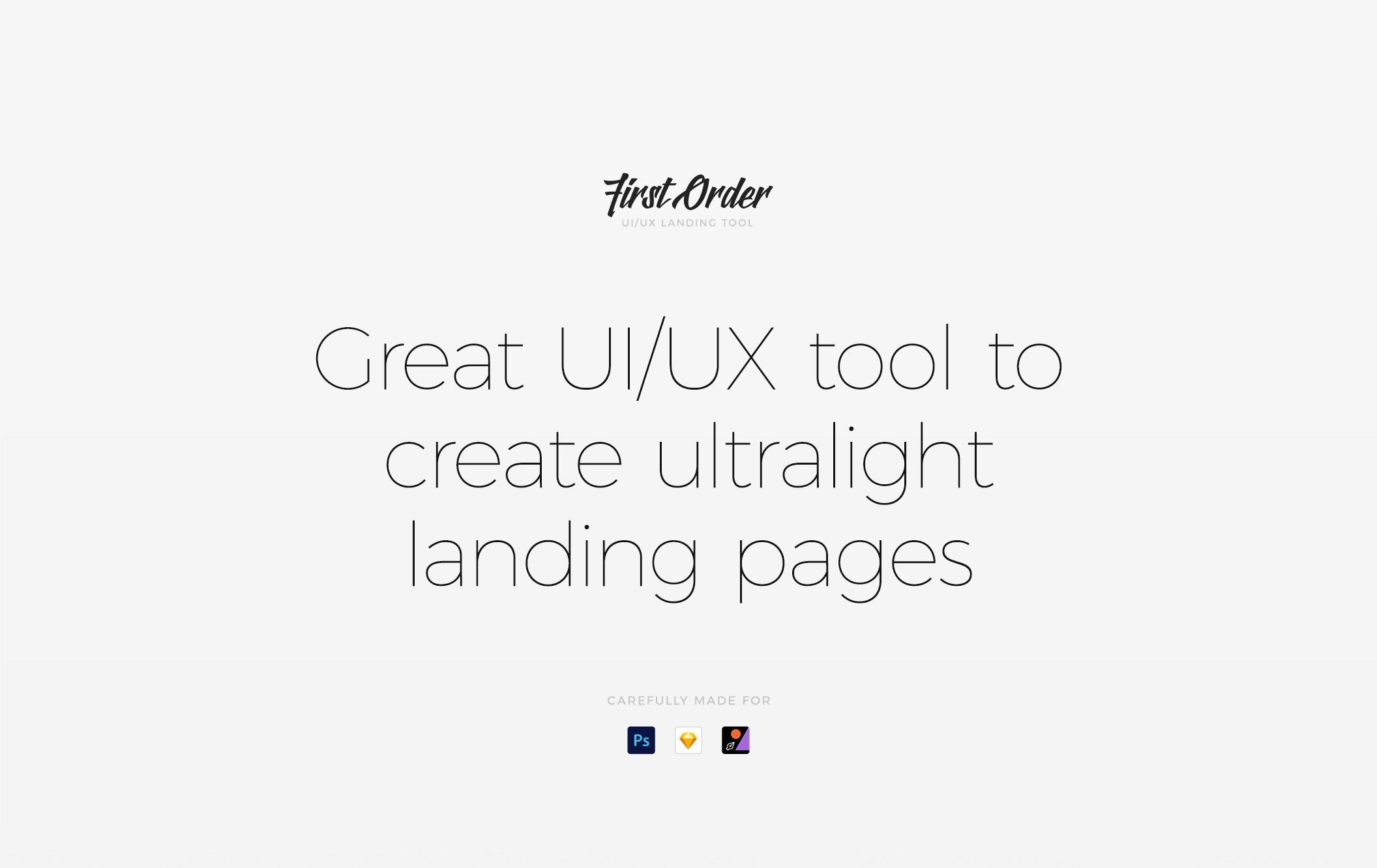 简约优雅的一套网页UI主题包.sketch、psd素材下载 网页模板-第7张