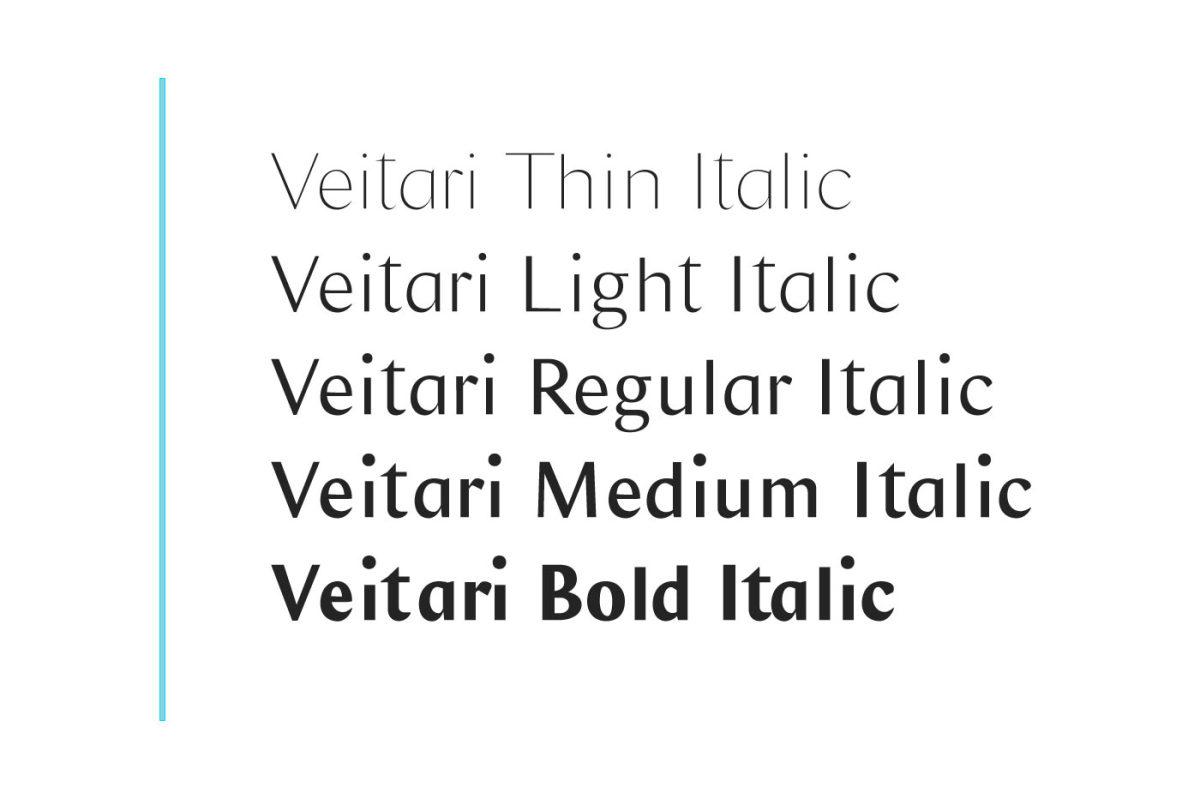 好看的Veitari 家族字体.Font字体下载 其他-第5张