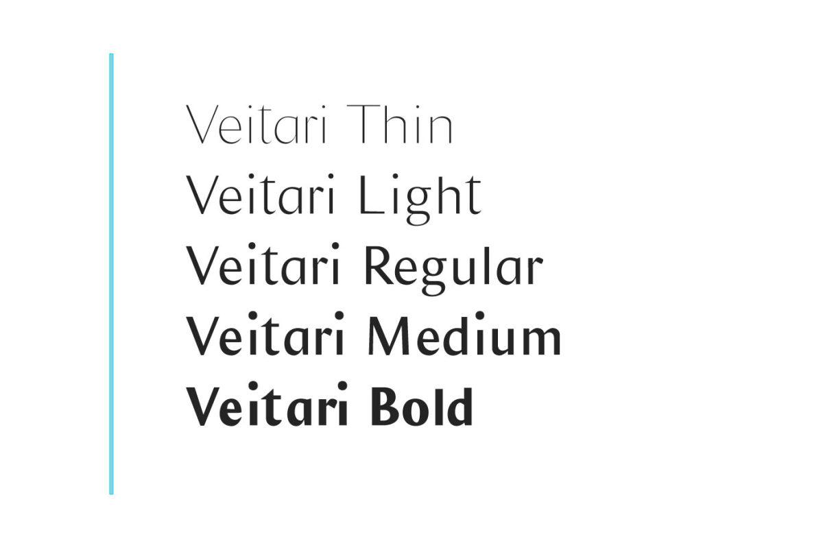 好看的Veitari 家族字体.Font字体下载 其他-第6张