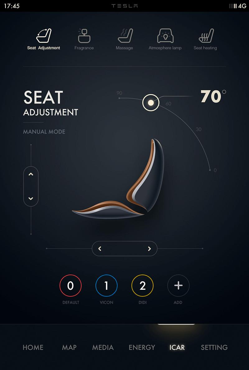 酷炫的汽车仪表盘ui设计概念