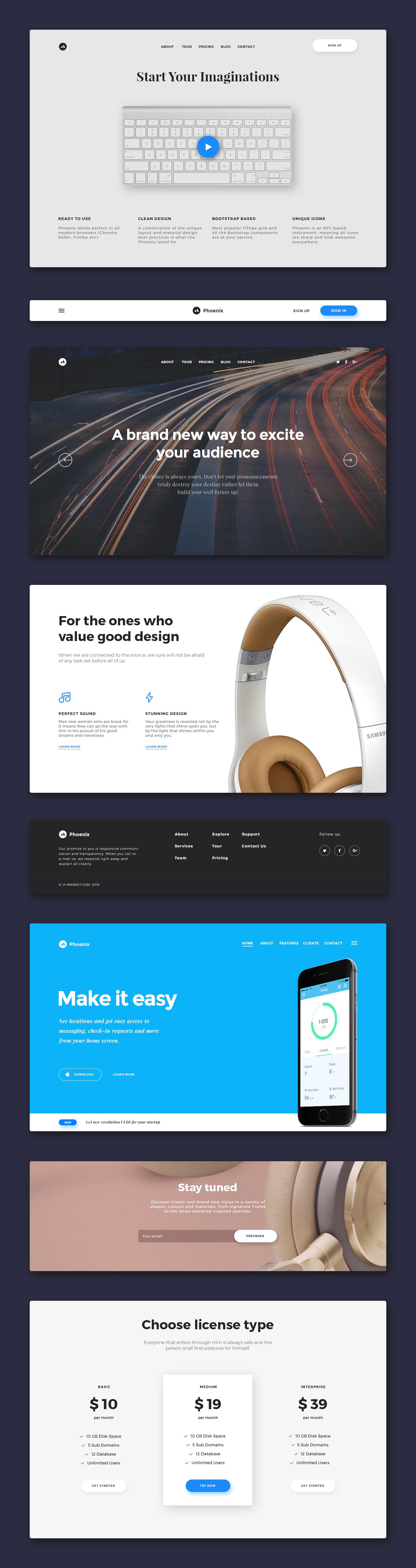 phoenix-startup-ui-kit-free-samples