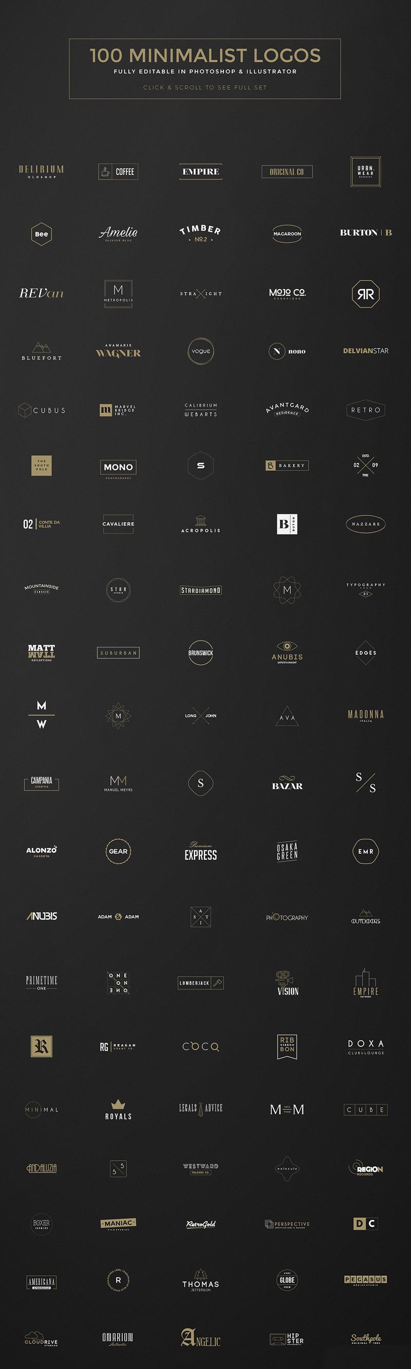 180多种高端logo设计矢量素材大包下载[Ai]1474035988-3708-presentation-3-o