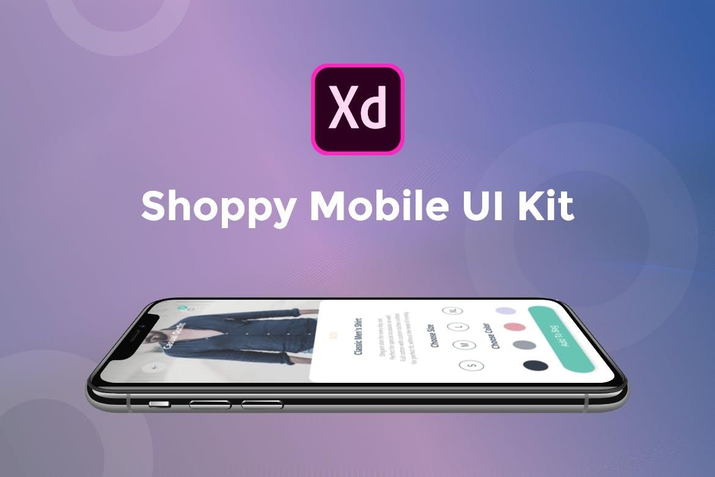 Shoppy移动用户界面套件模板(XD)插图(1)
