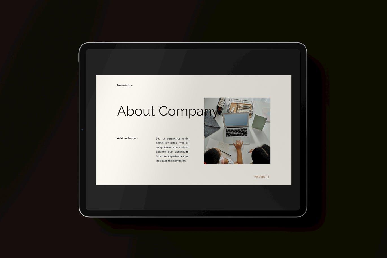 简约时尚高端清新多用途powerpoint幻灯片演示模板(pptx)插图(3)