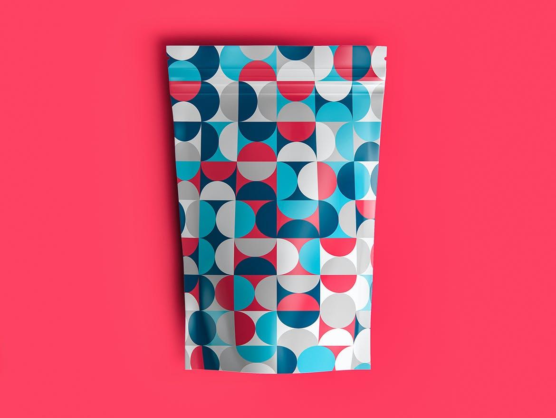 30种时尚高端抽象几何彩色艺术图案背景底纹纹理集合插图(1)