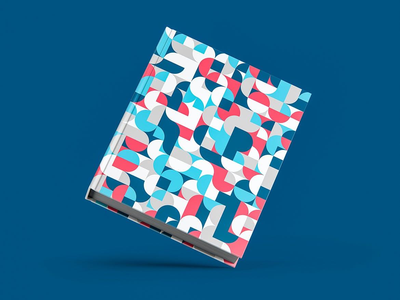 30种时尚高端抽象几何彩色艺术图案背景底纹纹理集合插图(4)