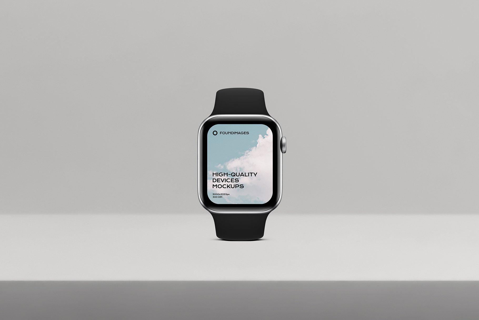 苹果系列设备多屏幕展示样机素材-正视图插图(8)