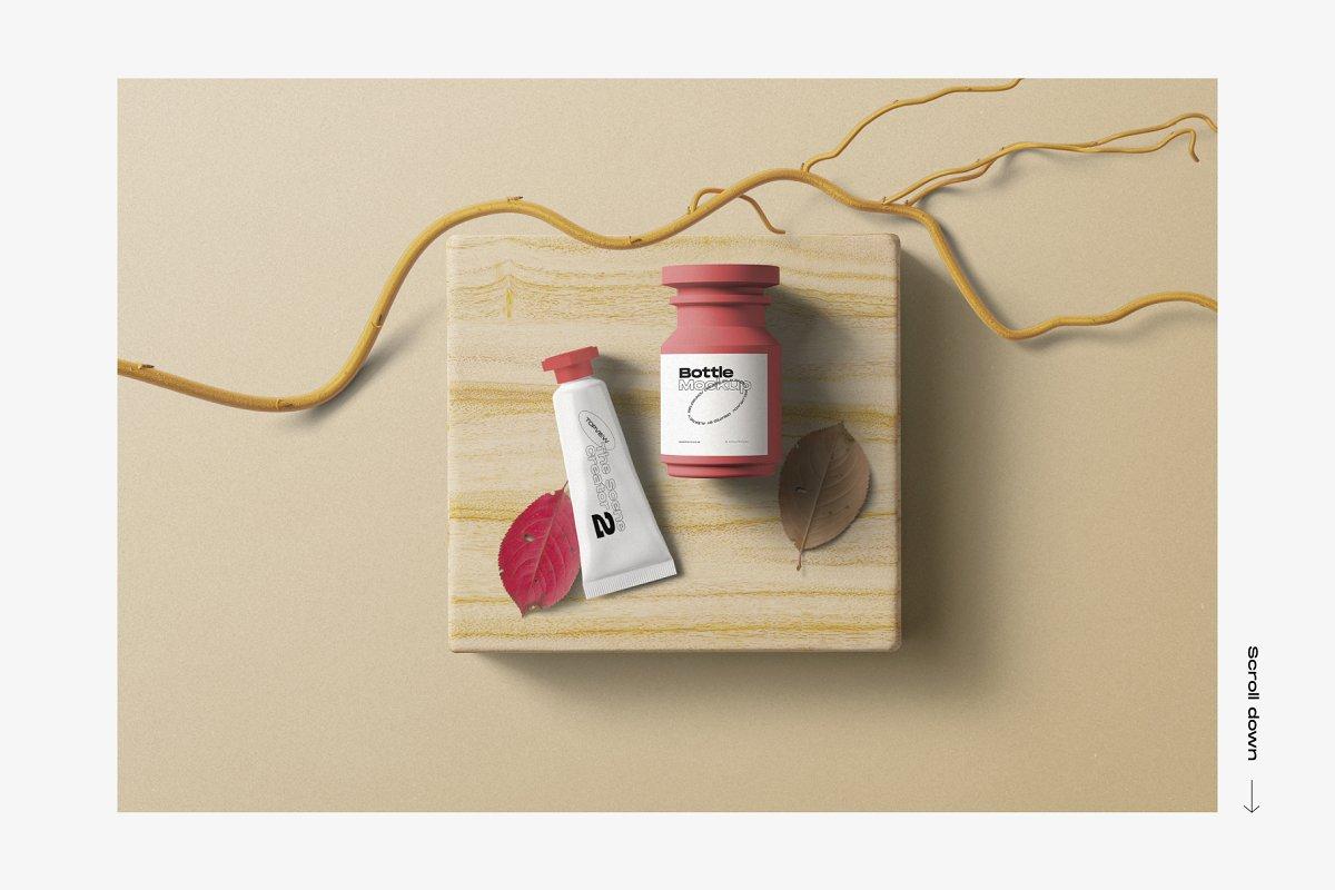 33GB+的护肤品美容产品品牌设计VI设计展示样机素材套装下载 [PSD]插图(2)