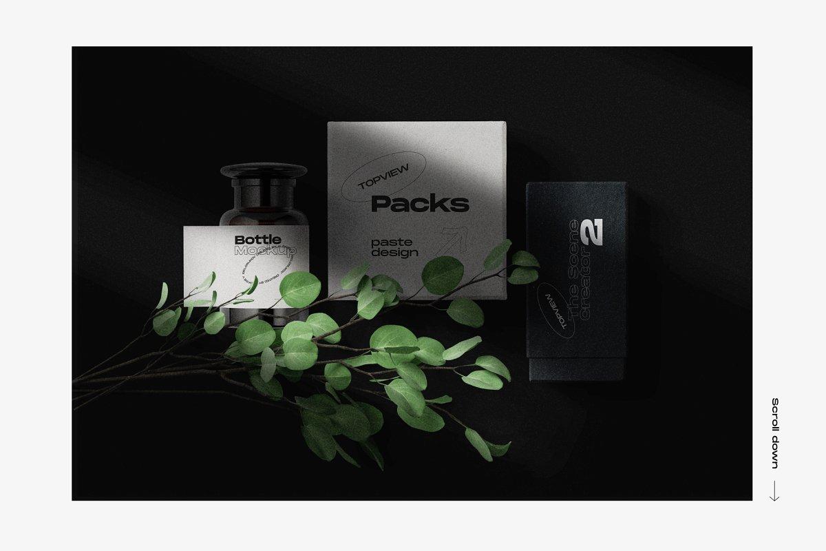 33GB+的护肤品美容产品品牌设计VI设计展示样机素材套装下载 [PSD]插图(17)