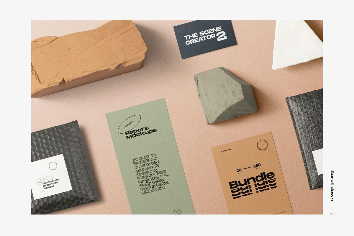33GB+的护肤品美容产品品牌设计VI设计展示样机素材套装下载 [PSD]插图(27)