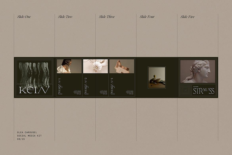 时尚高端专业优雅多用途的社交媒体banner海报设计模板集合插图(2)