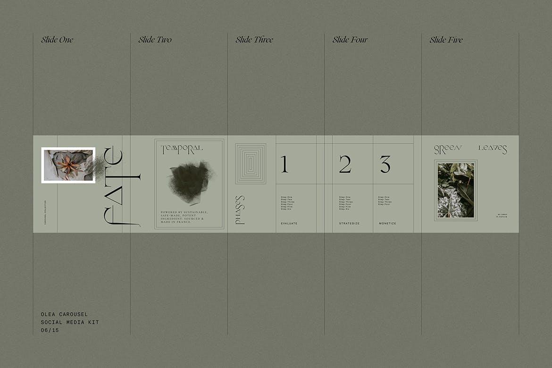 时尚高端专业优雅多用途的社交媒体banner海报设计模板集合插图(3)